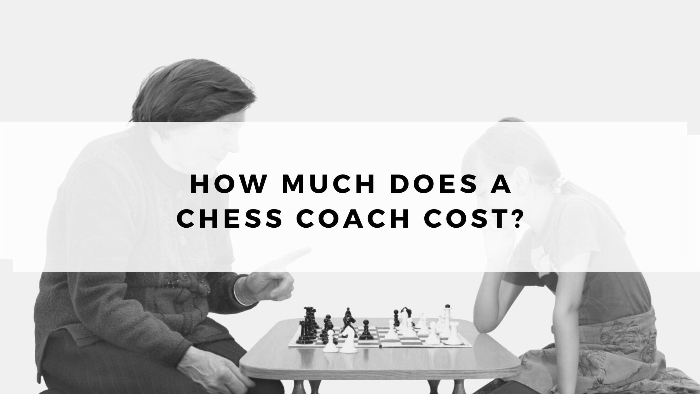 How Much does a Chess Coach Cost?