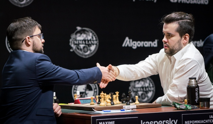 Maxime Vachier Lagrave against the French Defense
